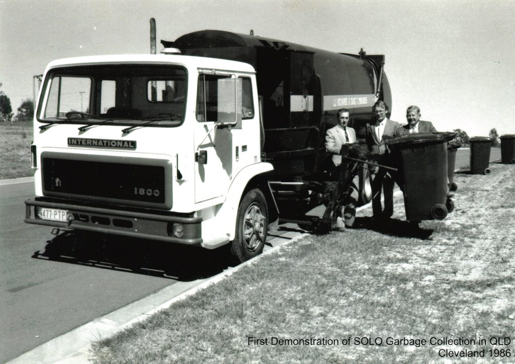 Introduction of the first solo truck